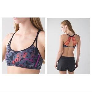 Lululemon Lighten Up Bra in Alarming Dot